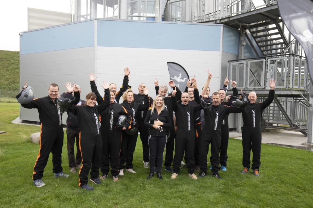 Firmaevent Indoor Skydiving teambuilding