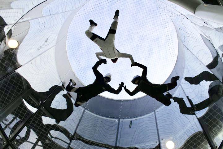 Om sporten Indoor Skydiving