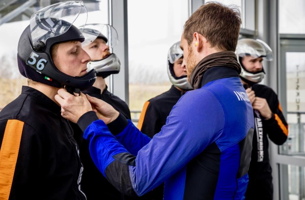 Sikkerhed Indoor skydiving