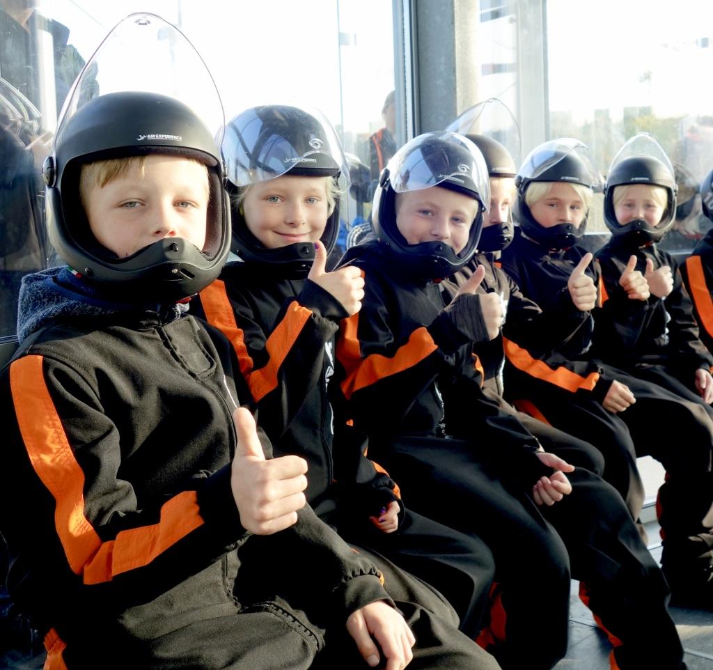 Børnehold Indoor Skydiving