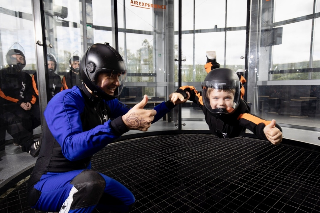 Børneaktivitet Indoor Skydiving CAE