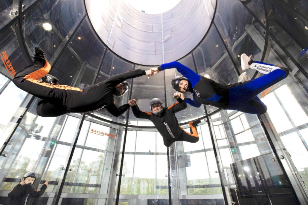 Return Flyers Indoor skydiving