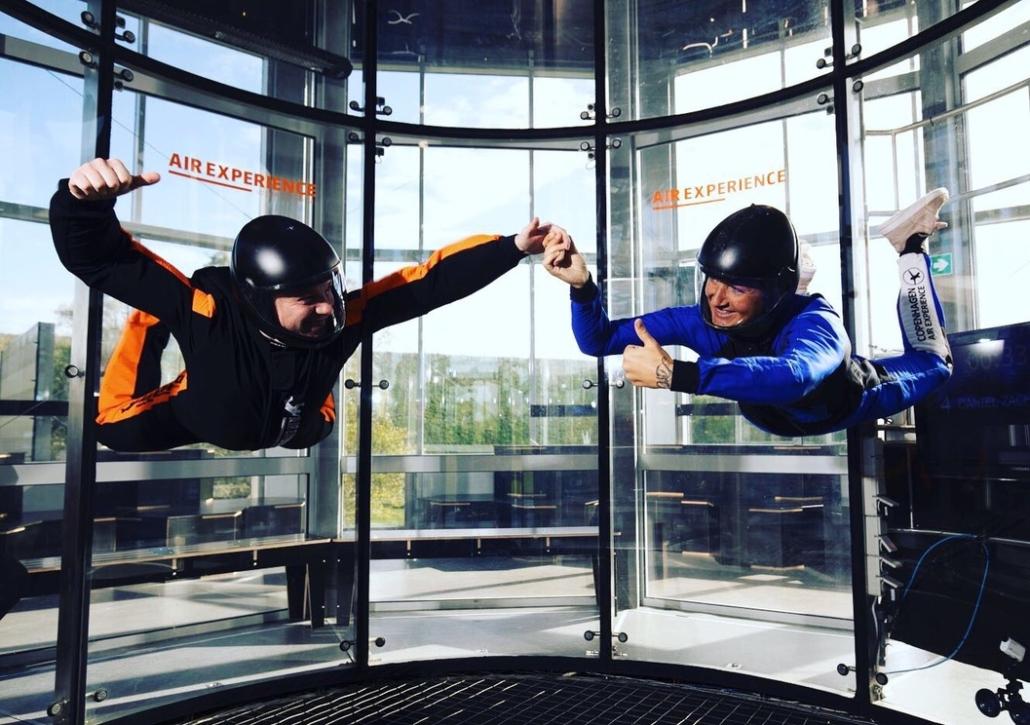 Job indoor skydiving instruktør