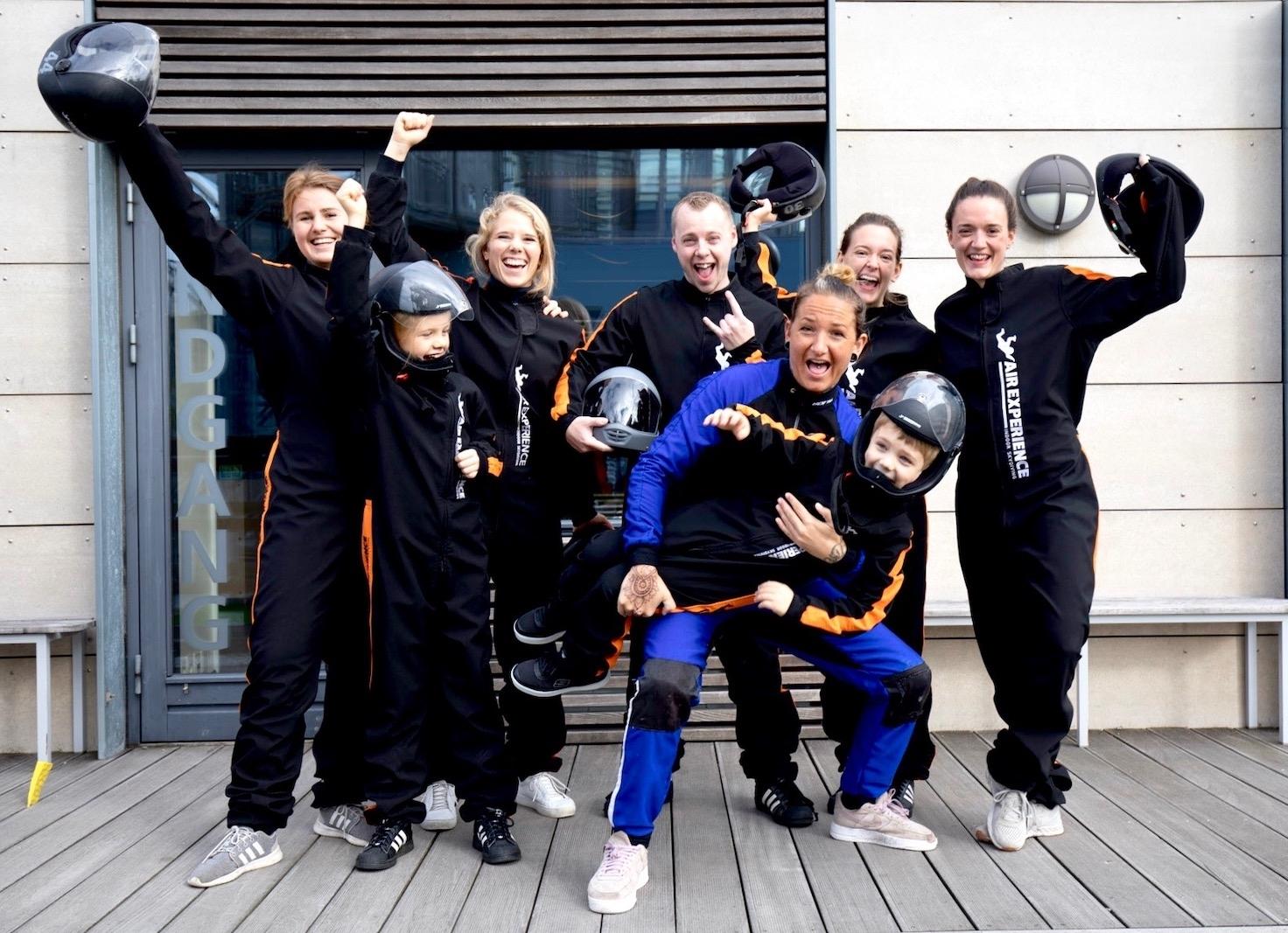Indoor Skydiving er for alle