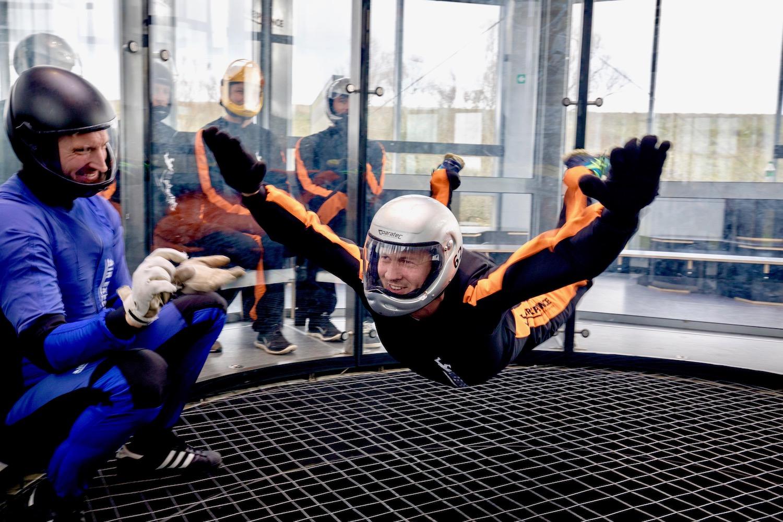 book indoor skydiving