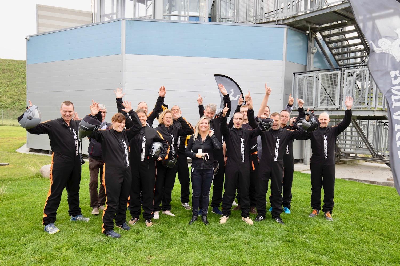 company event indoor skydiving Copenhagen Air Experience