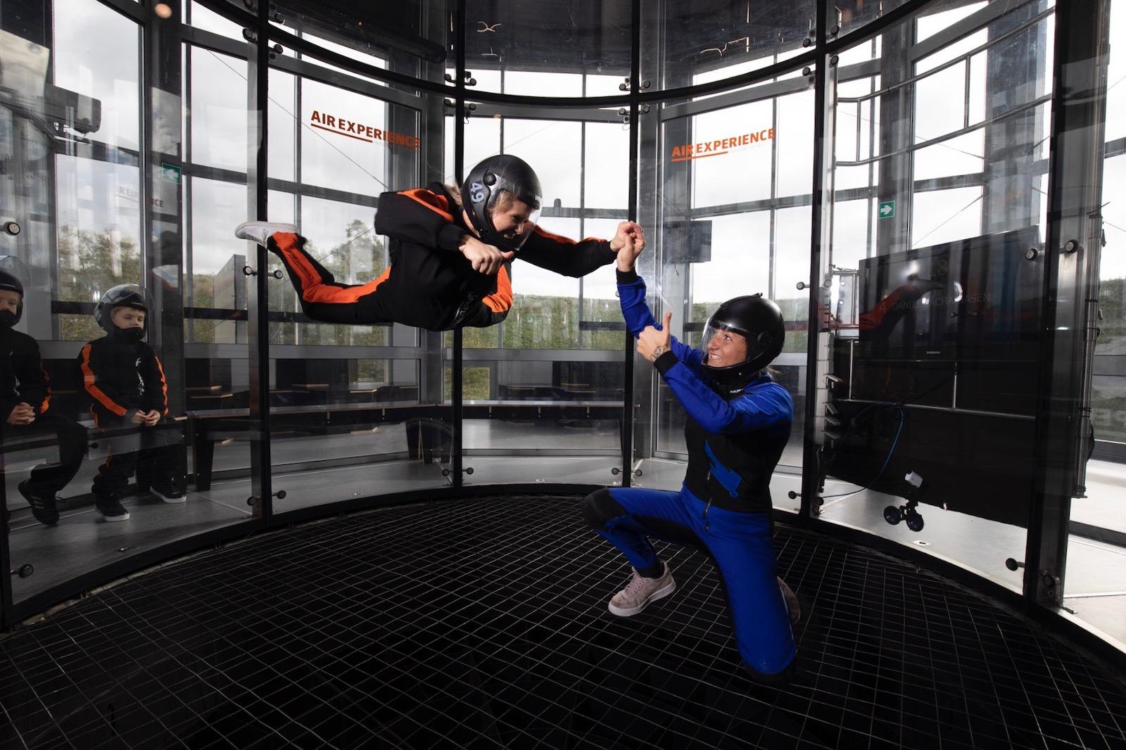 oplevelsen indoor skydiving