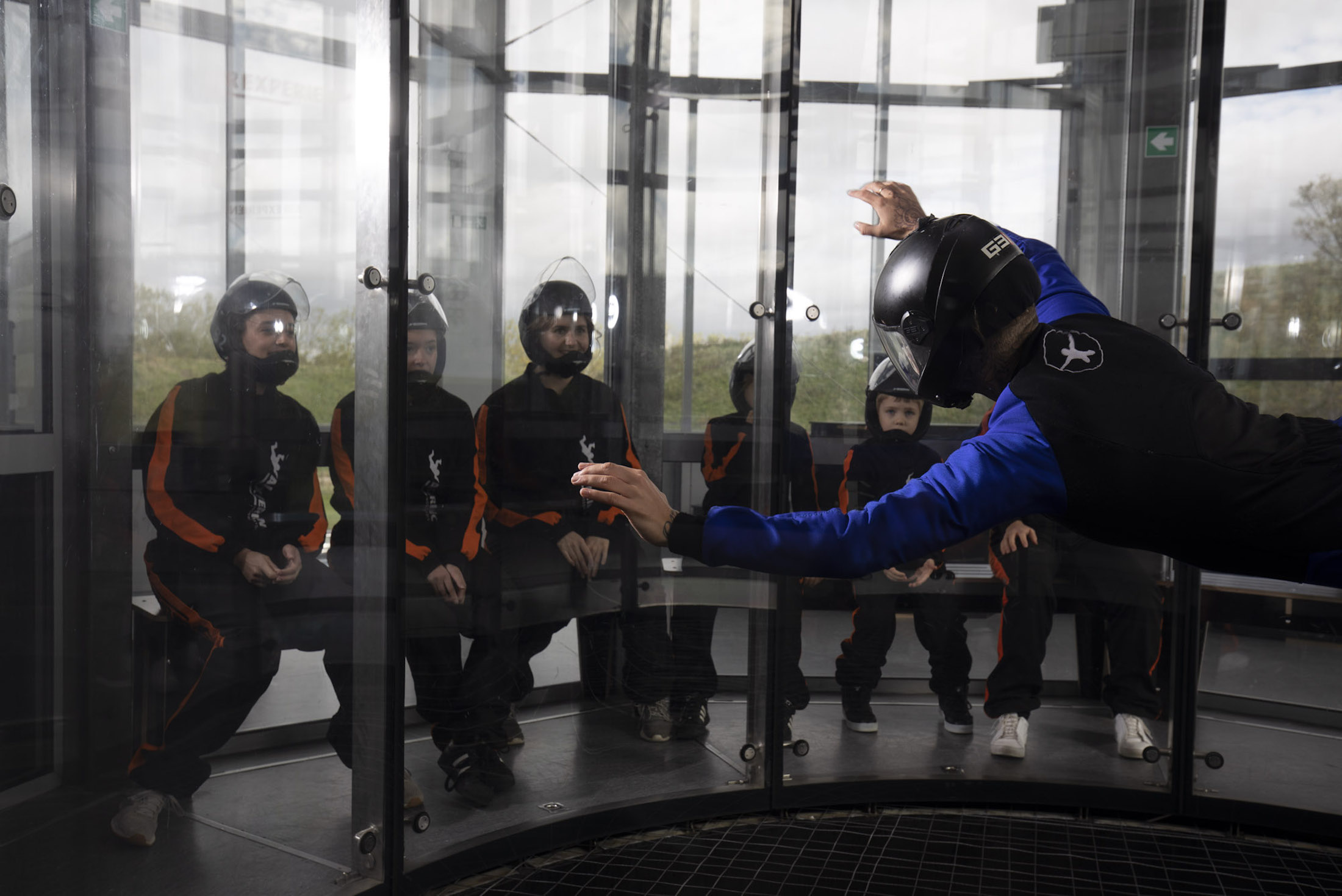 professional instructors safety Indoor Skydiving